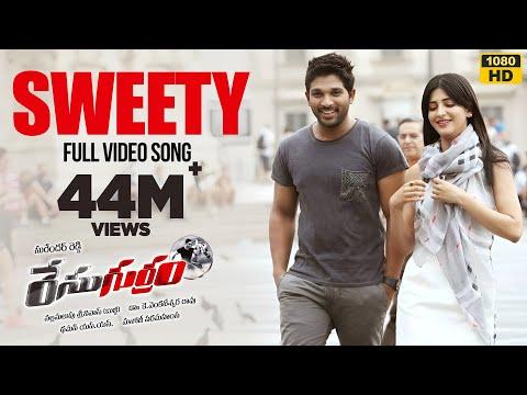 Race Gurram Video Songs | Sweety Sweety Video Song | Allu Arjun, Shruti hassan, S.S Thaman