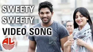 Nonton Race Gurram Songs | Sweety Sweety Video Song | Allu Arjun, Shruti hassan, S.S Thaman Film Subtitle Indonesia Streaming Movie Download