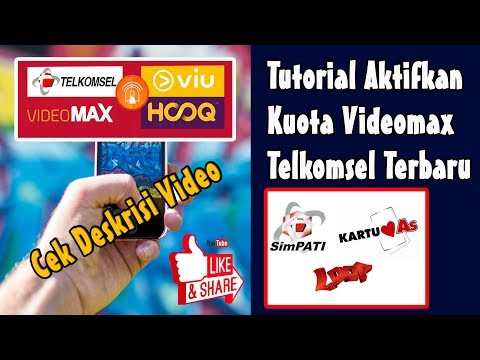 Cara Aktifkan Kuota Videomax Telkomsel 100% Work (Link Download AnonyTune.Apk Cek Deskripsi Video)