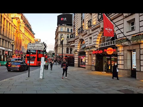 Walking London Piccadilly Circus to Seven Dials | London Walk 2020