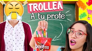 Video DIY Weird Back to SCHOOL SUPPLIES to PRANK Your TEACHER! 😈😋  You NEED to Try Them! ✄ Craftingeek MP3, 3GP, MP4, WEBM, AVI, FLV Maret 2018