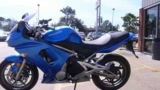10. 2007 Kawasaki Ninja 650R Gulfport MS