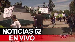 Protesta en U.S.C. – Noticias 62. - Thumbnail