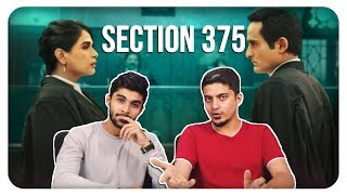 Section 375 Official Trailer | Akshaye Khanna, Richa Chadha | IndieTakess