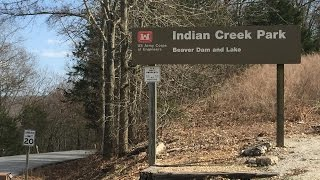 Eureka Springs (AR) United States  city photo : Indian Creek Campground near Eureka Springs Arkansas Beaver Lake Tour on CRF250L