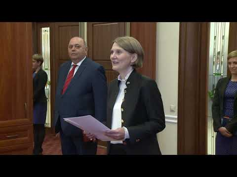 The President of the Republic of Moldova received credentials from five ambassadors