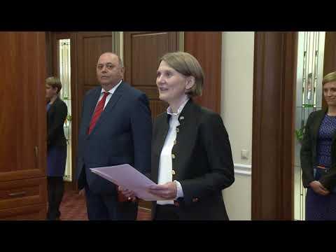 Președintele Republicii Moldova a primit scrisorile de acreditare din partea a cinci ambasadori agreați