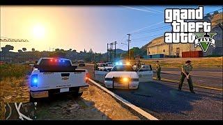 GTA 5 Policia Federal vs Narcos  MOD EN ESPAÑOL DIA 30.