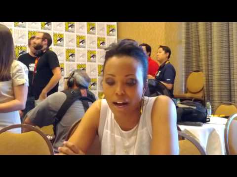 Archer's Aisha Tyler at Comic-Con