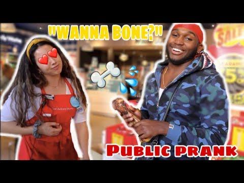 DO YOU WANNA BONE? 🦴|PUBLIC PRANK| (MUST WATCH!!!)