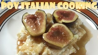 Roasted Figs and Ricotta: POV Italian Cooking Episode 46 by POV Italian Cooking