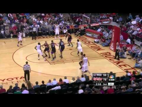James Harden - Between the Legs Pass to Greg Smith vs Suns