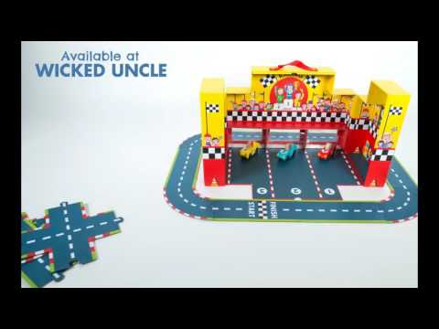 Youtube Video for Grand Prix - Racetrack & Wooden Cars