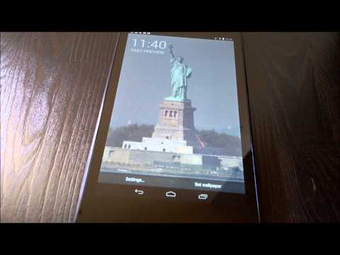Video of Liberty LIVE Wallpaper (Demo)