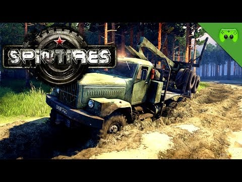 SPINTIRES - FAHR DOCH «»  PietSmiet probiert Spintires Deutsch| FULL HD