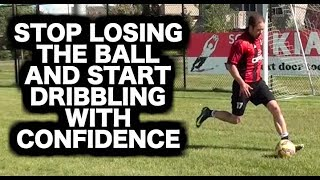 How to practice soccer dribbling by yourself | How to dribble a soccer ball | Football dribbles Video