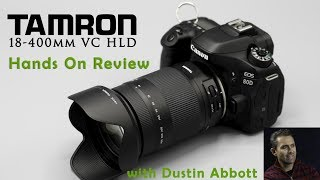 Tamron 18-400mm f/3.5-6.3 Di II VC HLD  Photographer Dustin Abbott gives a real world, hands on review of the new Tamron 18-400 VC HLD superzoom lens.  Read the Written Review: http://bit.ly/18400HLDda   Image Gallery:  http://bit.ly/Tam18400IG  Purchase from B&H Photo: https://bhpho.to/2t1VHYp  Amazon:  http://amzn.to/2s3ftBk  Amazon Canada: http://amzn.to/2t2FZ2mMy Patreon: https://www.patreon.com/dustinabbott  Check me out on:  Personal Website:  http://dustinabbott.net/   Sign up for my Newsletter: http://bit.ly/1RHvUNp   Google+: http://bit.ly/24PjMzv  Facebook:  http://on.fb.me/1nuUUeH   Twitter:  http://bit.ly/1RyYxIH   Flickr:  http://bit.ly/1UcnC0B   500px:  http://bit.ly/1Sy2Ngu Check me out on:  Personal Website:  http://dustinabbott.net/   Sign up for my Newsletter: http://bit.ly/1RHvUNp   Google+: http://bit.ly/24PjMzv  Facebook:  http://on.fb.me/1nuUUeH   Twitter:  http://bit.ly/1RyYxIH   Flickr:  http://bit.ly/1UcnC0B   500px:  http://bit.ly/1Sy2Ngu Tags:  Tamron 18-400mm, Tamron 18-400mm VC HLD, Tamron 18-400 VC, Tamron 18-400 VC HLD, Tamron 18-400mm f/3.5-6.3 Di II VC HLD, Dustin Abbott, Tamron 18-400 VC Review, Tamron 18-400mm VC Review, Tamron 18-400mm VC HLD Review, Review, Tamron 18-400 HLD, 22x, Zoom Range, All-in-One, Hand's On, Comparison, Sharpness, Distortion, Chromatic Aberration, Real World, Sample Images, Photography, Tamron, 18-400mm, APS-C, Crop