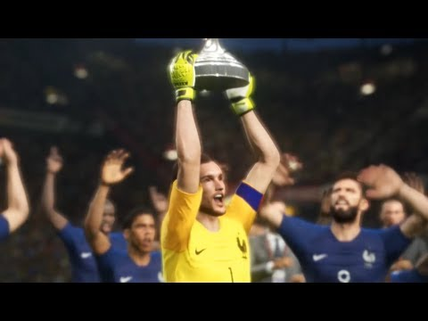 France vs Croatia - Finale Coupe du Monde 2018 Russia PES 2018
