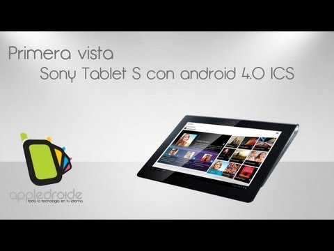 Sony Tablet S con android 4.0 ICS