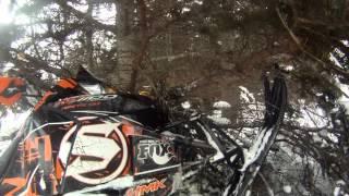 9. 2012 Arctic Cat XF1100 Turbo Crash
