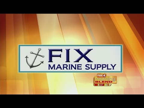 Marine Minute - Fix Marine Supply: How to maintain your boat lift