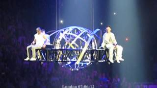 Westlife full seasons in the sun london 07-06-12