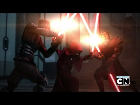 Darth Maul & Savage Opress Vs Darth Sidious