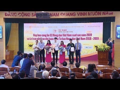 Trao Giải Báo chí Tự hào Nông dân Việt Nam 2018 - 2019