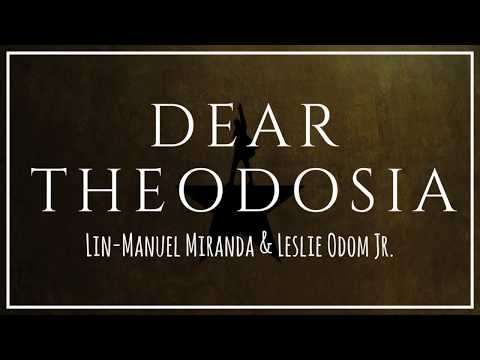 Dear Theodosia (from Hamilton)   Lyrics