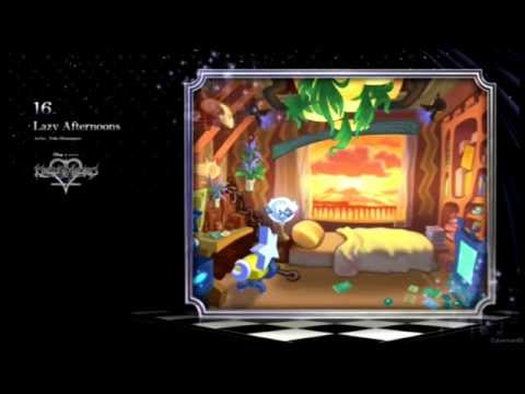 Lazy Afternoons ~ Kingdom Hearts HD 2.5 ReMIX Remastered OST