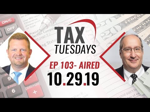 Tax Tuesday w Toby Mathis - Oct 29, 2019 EP 103