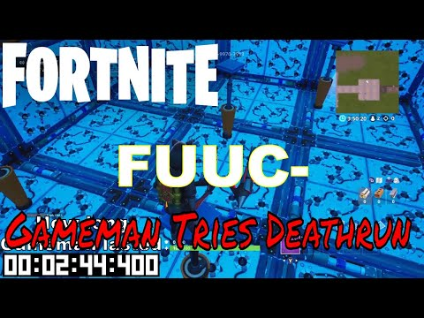 Gameman Tries Fortnite DeathRun