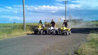7. Driving the quads