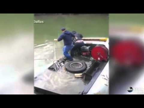 Texas Man Rescued From Sinking Truck