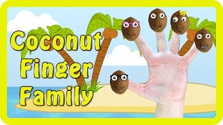 Learn from the Coconut Fruit Family in this Coconut Finger Family Fruit Nursery Rhyme for Kids with lyrics!Sing along below with the lyrics to Daddy Finger Family!😀😀😀😀😀😀😀😀😀😀   LYRICS   😀😀😀😀😀😀😀😀😀😀Daddy finger, daddy finger, where are you?Here I am, here I am. How do you do?Mommy finger, Mommy finger, where are you?Here I am, here I am. How do you do?Brother finger, Brother finger, where are you?Here I am, here I am. How do you do?Sister finger, Sister finger, where are you?Here I am, here I am. How do you do?Baby finger, Baby finger, where are you?Here I am, here I am. How do you do?😀😀😀😀😀😀😀😀😀😀   SUBSCRIBE   😀😀😀😀😀😀😀😀😀😀Like our videos? Subscribe for more every day http://bit.ly/1N2x3rU❤️💛💙💜❤️💛💙   RECOMMENDED VIDEOS   ❤️💛💙💜❤️💛💙 Disney Jigsaw Puzzles Mickey & Minnie Mouse Pluto Goofy Donald & Daisy Duck Mickey Mouse Clubhousehttps://www.youtube.com/watch?v=7nrhS7E6rwYDinosaur Finger Family Nursery Rhyme Collection Disney Pixar Good Dinosaur with Olaf from Frozen https://www.youtube.com/watch?v=dA6xxx0Ui7oThomas & Friends: Emily Vs Thomas, Percy, Diesel, Toby, James Daddy Finger Nursery Rhyme Compilationhttps://www.youtube.com/watch?v=ZvCLZF-qnwUMickey Mouse Clubhouse Explore - Mickey Mouse Clubhouse Finger Family Children's Nursery Rhymeshttps://www.youtube.com/watch?v=dKngRJqRQXkDinosaur Finger Family Nursery Rhyme Collection Disney Pixar Good Dinosaur Big Hero 6 Hiro Baymaxhttps://www.youtube.com/watch?v=ZtajLzx5NUw