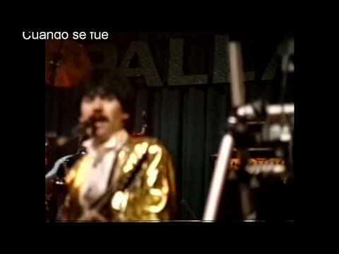 Los Walker de Tijuana - Cuando se fue EN VIVO...