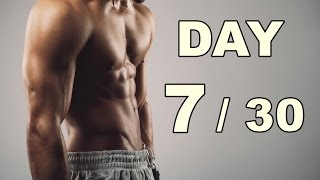 Day 7/30 Abs Workout (30 Days Abs Workout) Home Workout