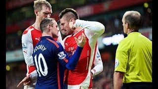 Video THE DIRTY SIDE OF MANCHESTER UNITED VS ARSENAL●FIGHTS●FOULS●RED CARDS MP3, 3GP, MP4, WEBM, AVI, FLV Desember 2018