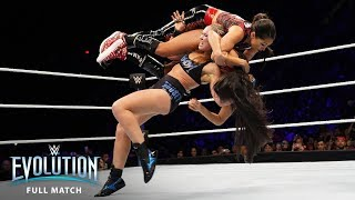 FULL MATCH - Ronda Rousey vs. Nikki Bella - Raw Women's Championship: WWE Evolution (WWE Network)