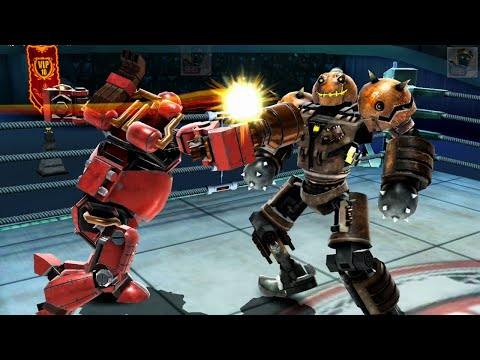 REAL STEEL WRB Fat Boy VS Atom & Bio War & Ambush & Hollowjack