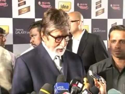 Amitabh Bachchan, Mika, Yami Gautam  other Bollywood Celebs at Royal Stag Mirchi Music Awards