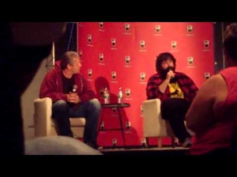 Bret Hart and Mick Foley - Q&A session at Montréal Comiccon 2013