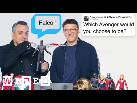 The Russo Brothers Answer Avengers: Endgame Questions From Twitter | Tech Support | WIRED