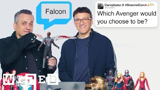 Video The Russo Brothers Answer Avengers: Endgame Questions From Twitter | Tech Support | WIRED MP3, 3GP, MP4, WEBM, AVI, FLV Agustus 2019