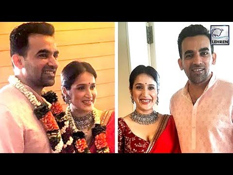 Zaheer Khan & Sagarika Ghatge Wedding FIRST PICS O