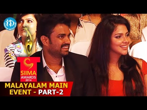 SIIMA 2014 Malyalam Main Event Part 2