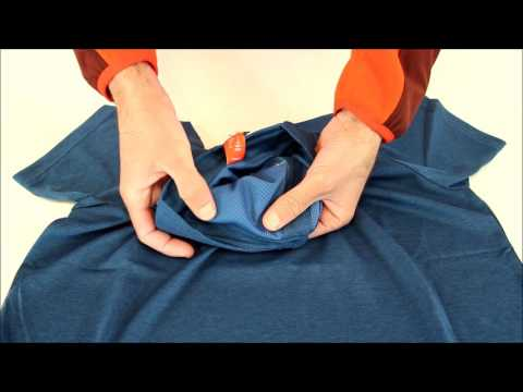 RayonRando.com : Gros plan sur le t-shirt Technique Homme Shift Tee de Lafuma