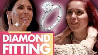 IF WE HIT 3 MIL BY AUG 31 OUR BOSS IS SENDING US TO CABO!!! CLICK HERE PLS!!! ►► http://bit.ly/SubClevverStyleWe are in New York's richest suburb trying on some of the most insane jewelry in the world! Not to mention, getting a little Engagement Ring 101.  We hope Joslyn's boyfriend is watching!!! (And OMG – YES, Joslyn has a boyfriend.  Meet him in this week's Lunchy Break: https://www.youtube.com/watch?v=Hbp3M1WT2BQ&t=76s) For more info on London Jewelers & their amazing bracelet line that benefits dog rescues, click here:https://www.londonjewelers.com/our-cause-for-paws/ Talk to the girls about the episode!http://twitter.com/joslyndavishttp://twitter.com/heyerinrobinson http://instagram.com/joslyndavis http://instagram.com/heyerinrobinsonFor More Clevver Visit:There are 2 types of people: those who follow us on Facebook and those who are missing out http://facebook.com/clevverhttp://instagram.com/Clevverhttp://Twitter.com/ClevverTV