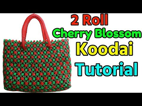 Tamil-Beautiful Cherry Blossom Basket Full Tutorial   Mix of Amla knot and basic knot