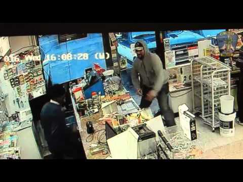 WATCH: Clerk Fends Off Robber With A Putter